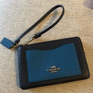 Genuine Coach wristlet